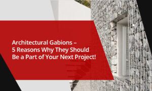 need of an architectural gabions in india