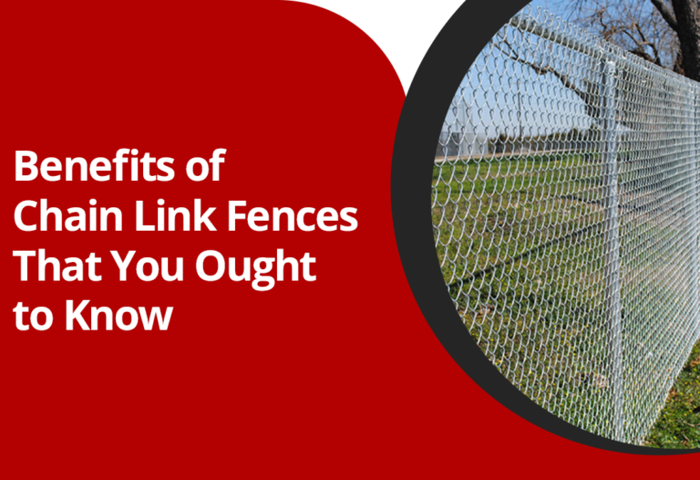 benefits of chain link fence